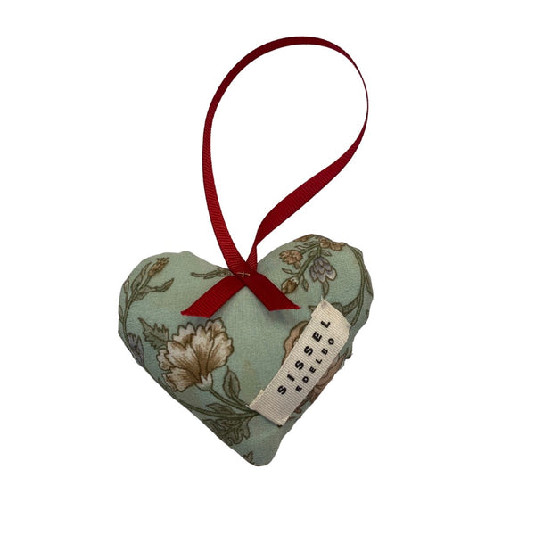 Sissel Edelbo Megan Heart Silk Ornament