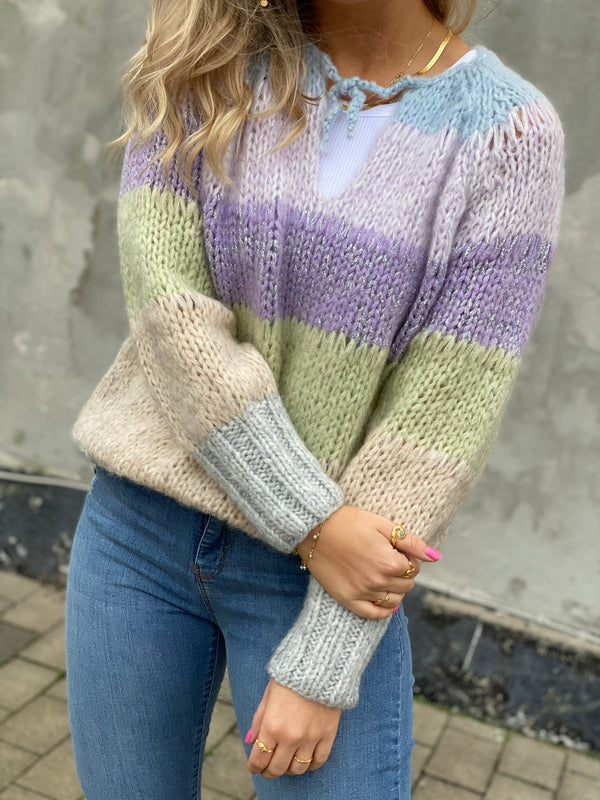Dawn X Dare Gwendolyn Stripe Strik Multi Block