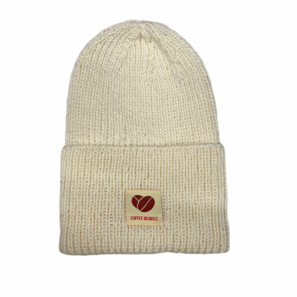 Coffee Beanies Peace Hue Off White