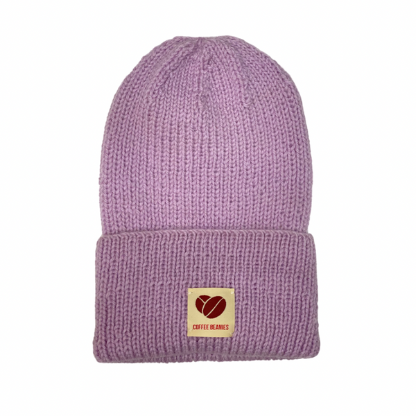 Coffee Beanies Peace Hue Lilac