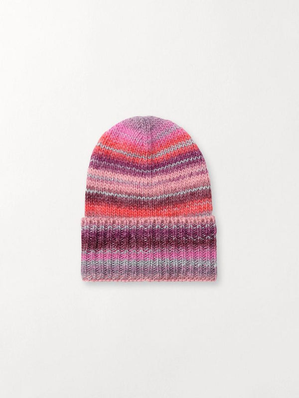 Jadia Mix Beanie Hue Rose