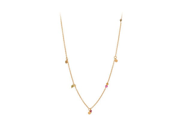 Afterglow Pastel Necklace Gold