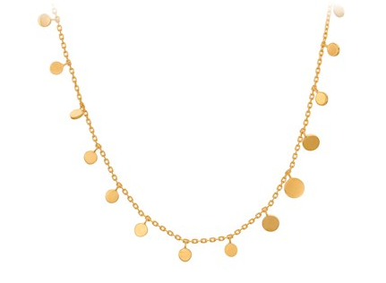 Sheen Necklace Gold