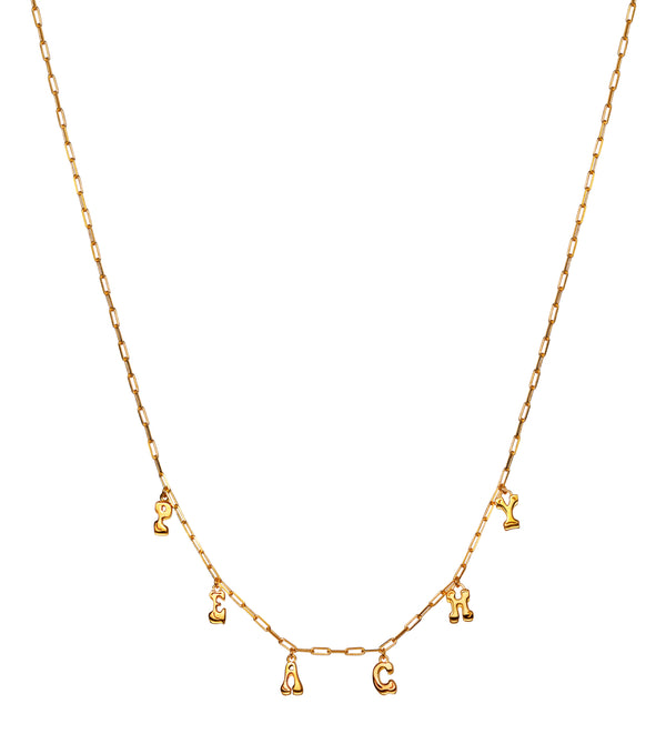 Peachy Necklace Gold