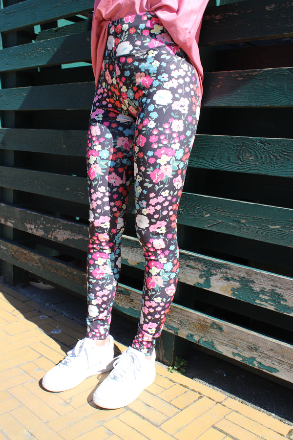 Liberté Nicole Leggings Black Flower