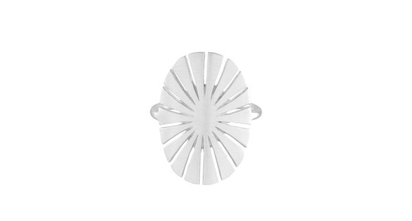 Pernille Corydon Flare Ring Silver