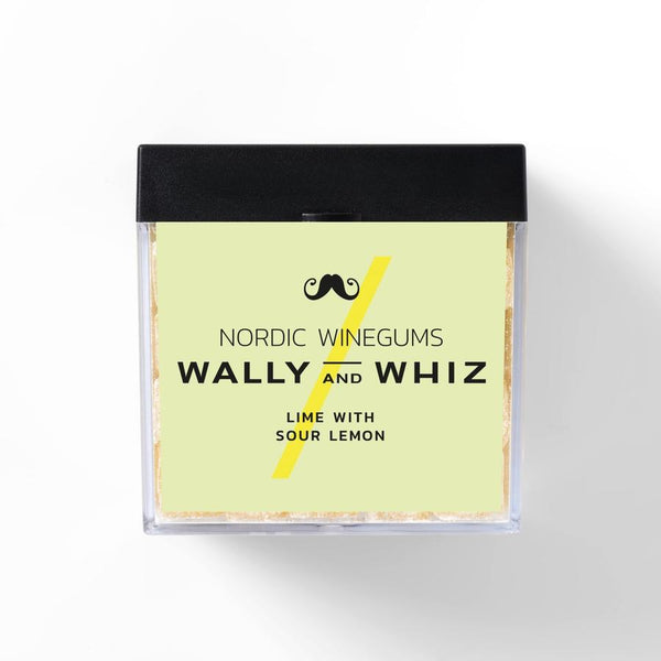 Wally And Whiz Gourmet Vingummi Lime Med Sur Citron