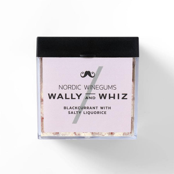 Wally And Whiz Gourmet Vingummi Solbær Med Saltlakrids