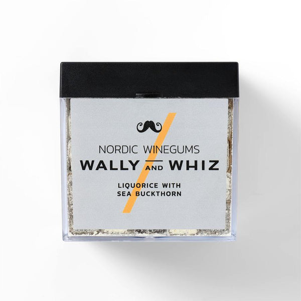 Wally And Whiz Gourmet Vingummi Lakrids Med Havtorn