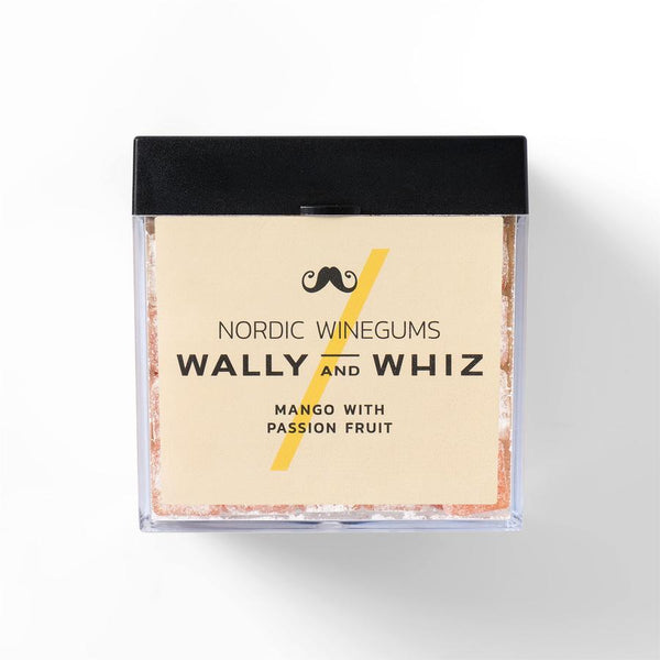 Wally And Whiz Gourmet Vingummi Mango Med Passionsfrugt
