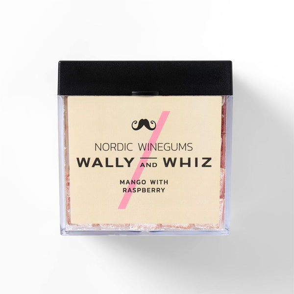 Wally And Whiz Gourmet Vingummi Mango Med Hindbær
