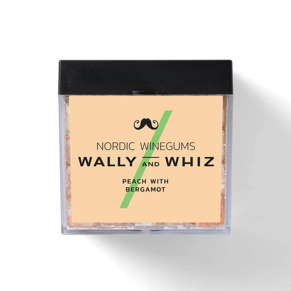 Wally And Whiz Gourmet Vingummi Fersken Med Bergamotte
