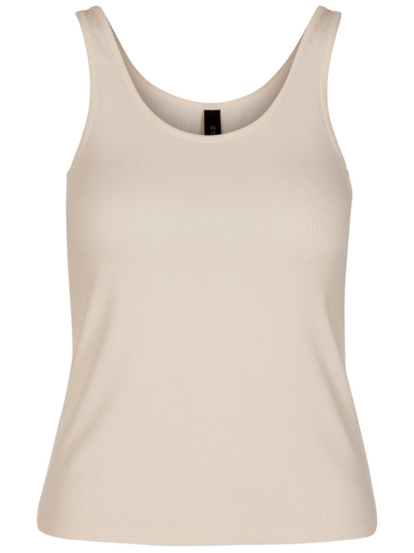 Yasblax Tank Top White