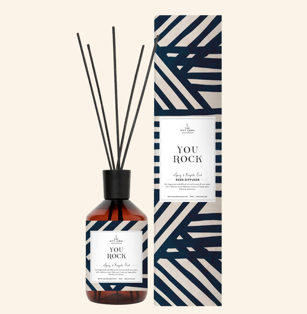 You Rock Reed Diffuser Spicy And Royale Oud
