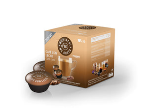 Cafe Latte Coffee Pods for Dolce Gusto machines Box of 16 pods