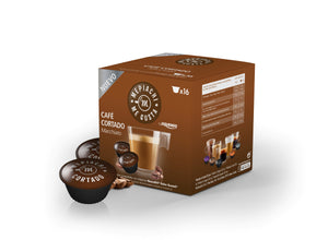 Cafe Cortado Dolce Gusto Compatible Coffee pods box of 16