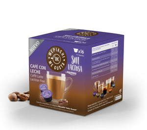 Cafe Latte Lactose Free Dolce Gusto Compatible pods box of 16