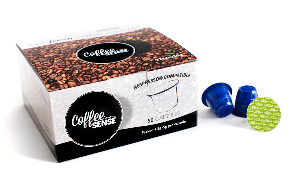 Colombian Supremo Nespresso Compatible Coffee Capsules Box of 50