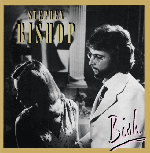 Stephen Bishop: Signed Bish LP