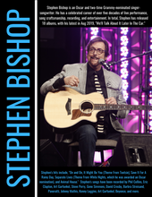 Load image into Gallery viewer, Signed Stephen Bishop 2020 Tour Book