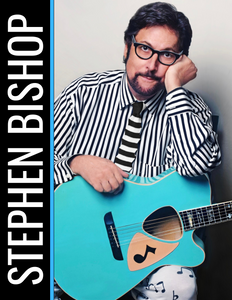 Signed Stephen Bishop 2020 Tour Book