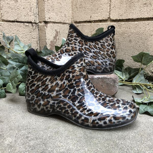 Stormy Rain Shoes - Cheetah