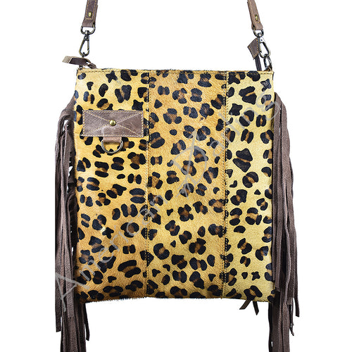 American Darling - Purse - Cheetah with Fringe