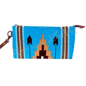 American Darling - Wallet - Multi Color Aztec - Blue