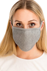 Cloth Face Mask - Grey