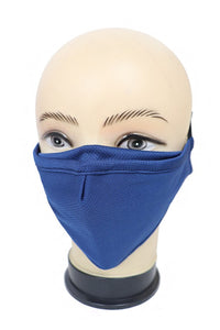 Solid Washable Mask with Nose Wire
