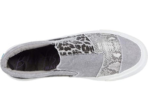 Blowfish Sneaker MADDOX - Grey Snakeskin, Camo and Leopard