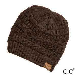 Adult Beanie - Original Beanie - Brown