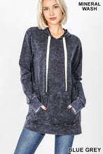 Load image into Gallery viewer, Mineral Wash Hoodie - Charcoal