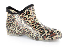 Load image into Gallery viewer, Stormy Rain Shoes - Cheetah