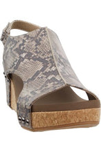 Load image into Gallery viewer, Carley - Taupe Snakeskin