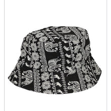 Load image into Gallery viewer, Elephant Paisley Bucket Hat