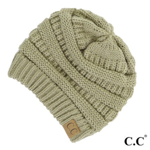 CC Adult Beanie - Original Beanie -New Sage
