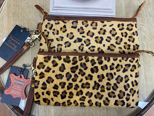 American Darling - Wallet - Hair on Cheetah