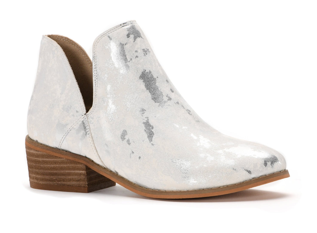Corky's WAYLAND -  White with Metallic Accented Boots