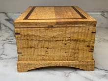 Load image into Gallery viewer, Handmade Jewelry Box - Curly Maple