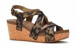 Corky's SHORE -  Metallic Leopard