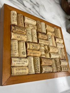 Handmade Trivet - with Wine Corks