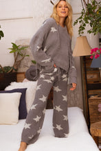 Load image into Gallery viewer, Fluffy Star Grey Lounge Pants