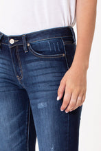 Load image into Gallery viewer, KanCan - Mid Rise Super Skinny Dark Denim Jeans - NON Distressed