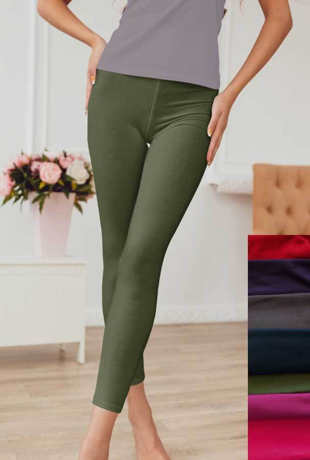 CAPRI- Soft Olive Leggings - Charlie's Project