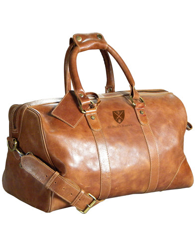 Westbridge Collection Leather Duffel