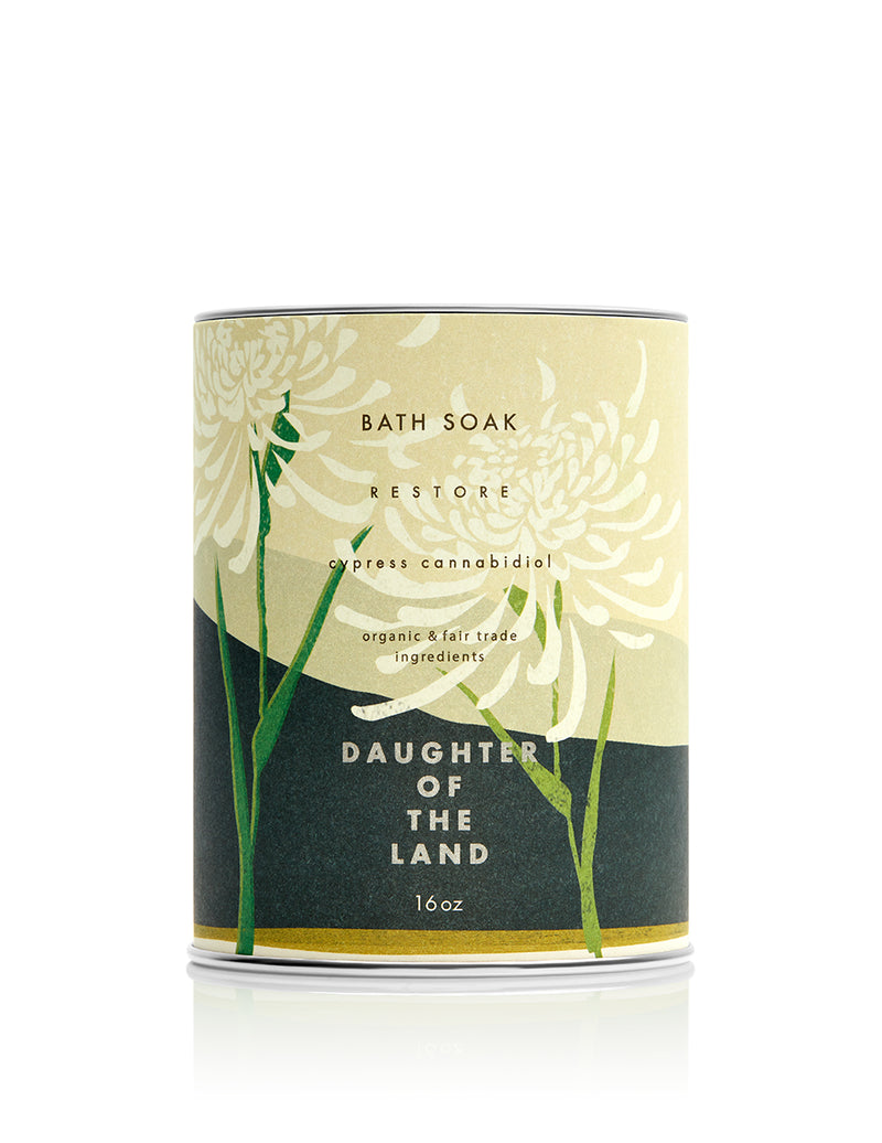 cbd bath soak cypress