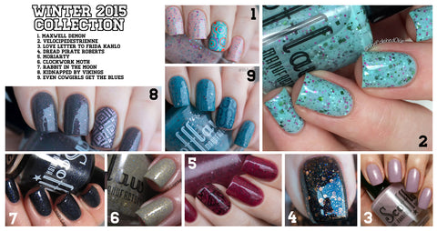 Scofflaw Nail Varnish — Winter 2015 Collection