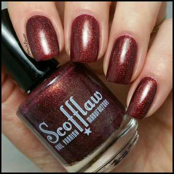 Heavy Metal Sewing Circle - Scofflaw Nail Varnish
