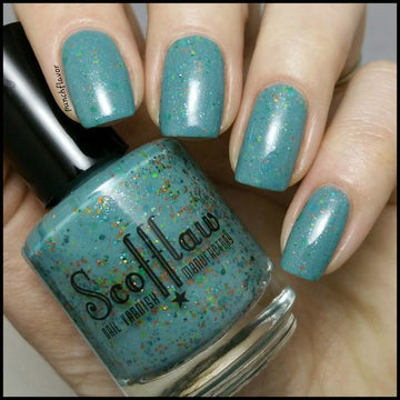 Creature from the Glitter Lagoon - Scofflaw Nail Varnish